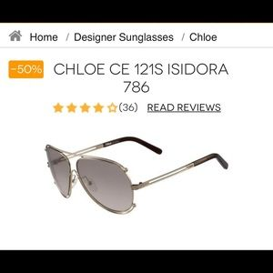 Womens Chloe Sunglasses Summer Sale